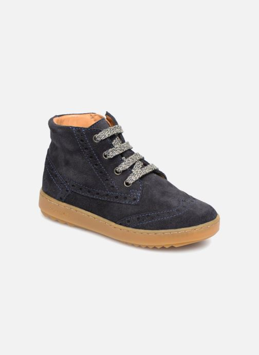 Sneakers Pom d Api Wouf Brogue Blauw 3/4'