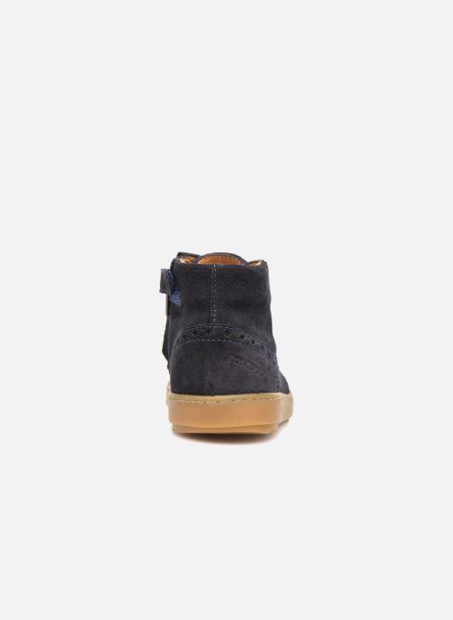 Sneakers Pom d Api Wouf Brogue Blauw rechts