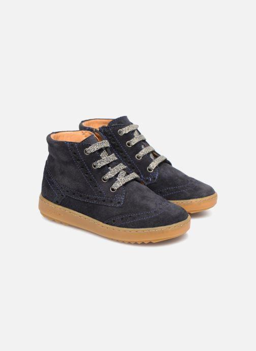 Sneakers Pom d Api Wouf Brogue Blauw detail
