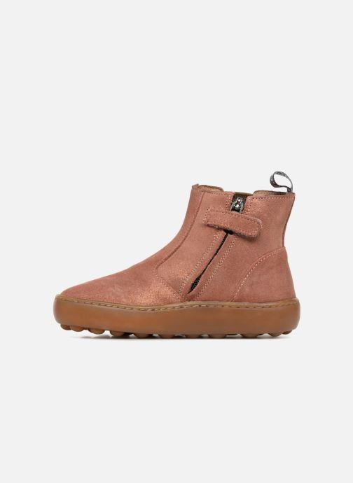 Bottines et boots Pom d Api Walk Jodpur Basic SZ Rose vue face