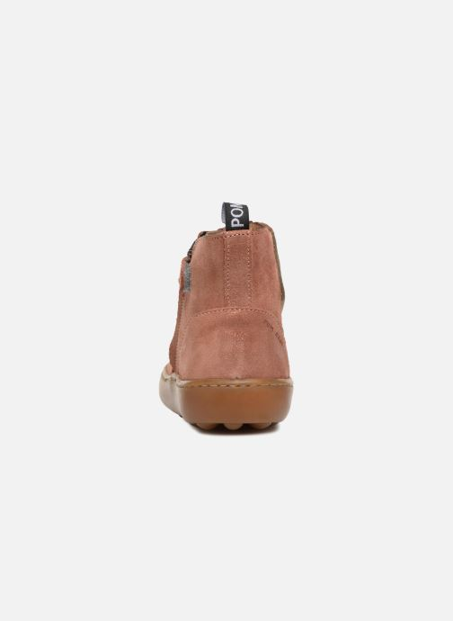 Bottines et boots Pom d Api Walk Jodpur Basic SZ Rose vue droite