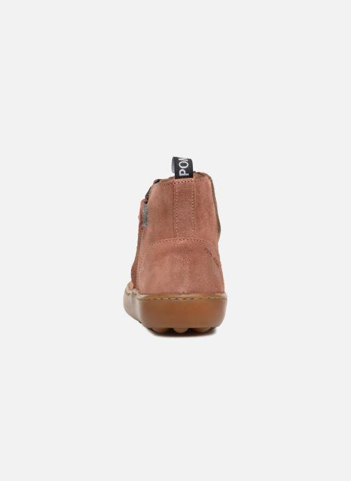 Boots en enkellaarsjes Pom d Api Walk Jodpur Basic SZ Roze rechts