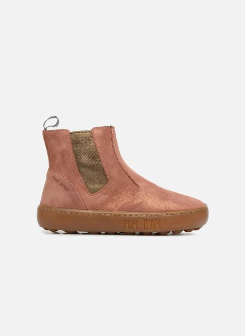 Bottines et boots Pom d Api Walk Jodpur Basic SZ Rose vue derrière