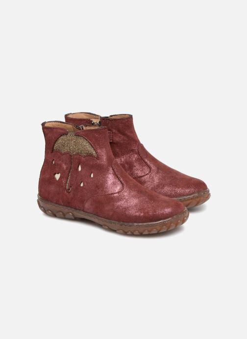 Bottines et boots Pom d Api Cute Boots Rain Bordeaux vue 3/4