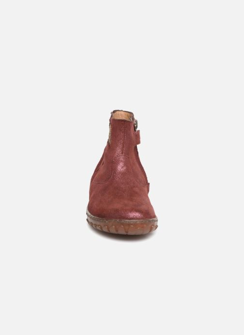 Ankle boots Pom d Api Cute Boots Rain Burgundy model view