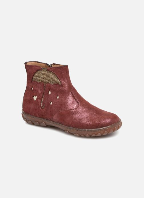 Ankle boots Pom d Api Cute Boots Rain Burgundy detailed view/ Pair view