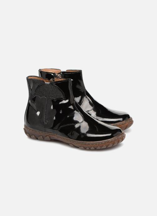 Bottines et boots Pom d Api Cute Boots Rain Noir vue 3/4