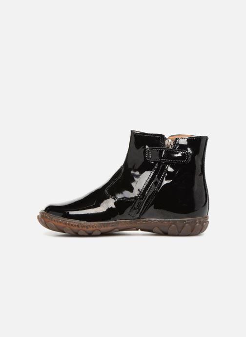 Ankelstøvler Pom d Api Cute Boots Rain Sort se forfra