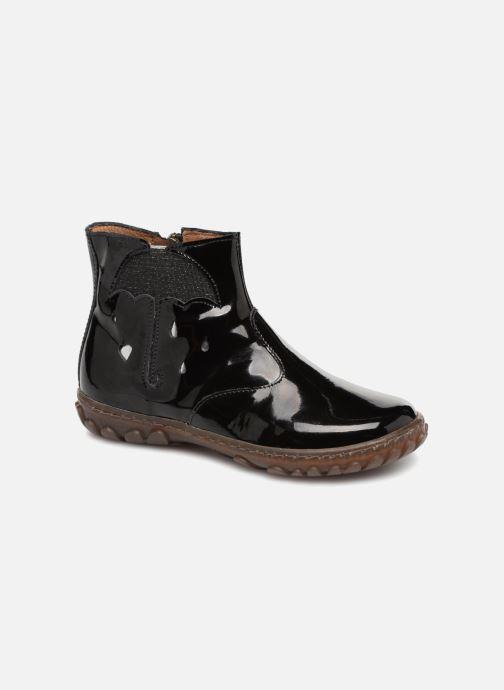 Ankelstøvler Pom d Api Cute Boots Rain Sort detaljeret billede af skoene