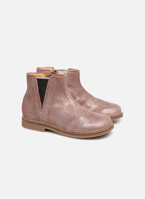 Boots en enkellaarsjes Pom d Api Retro Boots Roze 3/4'