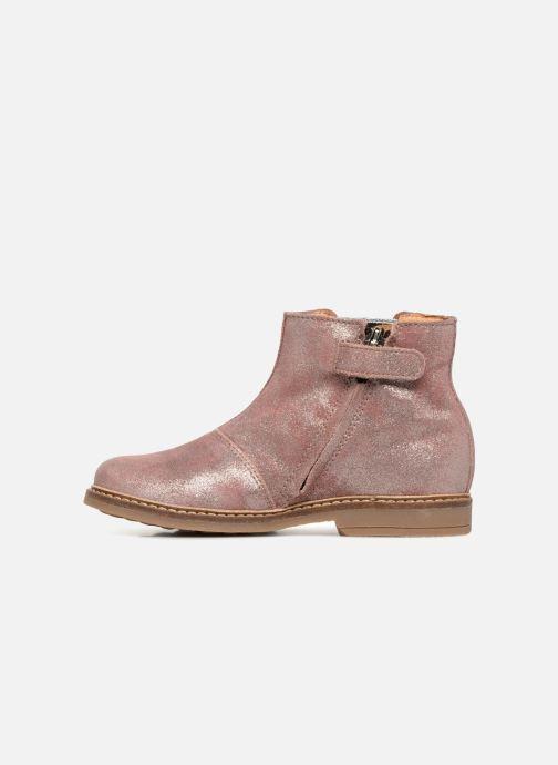 Boots en enkellaarsjes Pom d Api Retro Boots Roze voorkant