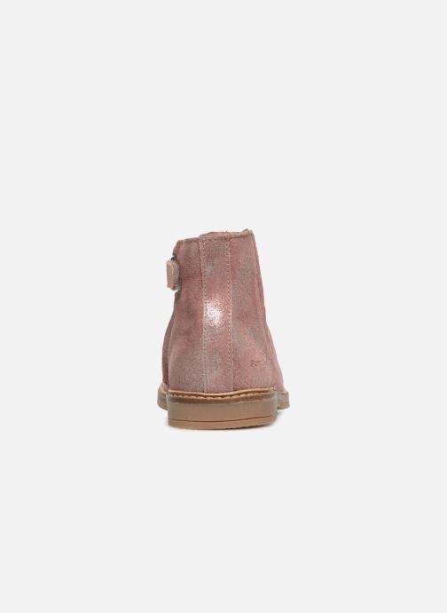 Boots en enkellaarsjes Pom d Api Retro Boots Roze rechts