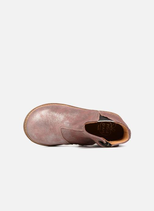 Boots en enkellaarsjes Pom d Api Retro Boots Roze links