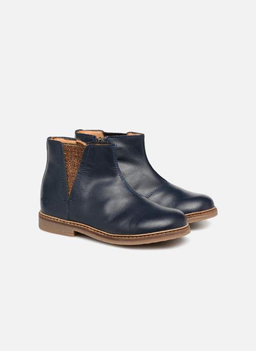 Bottines et boots Pom d Api Retro Boots Bleu vue 3/4