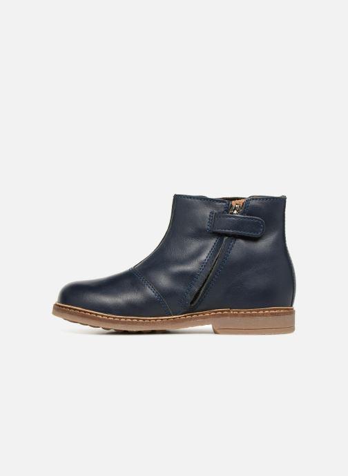 Bottines et boots Pom d Api Retro Boots Bleu vue face