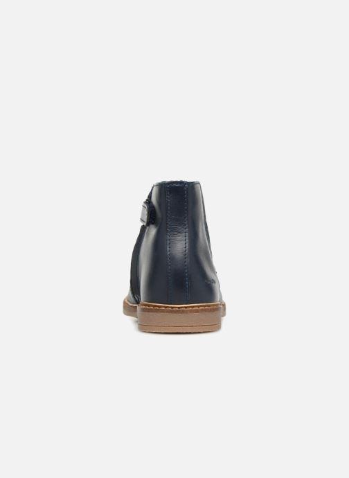 Bottines et boots Pom d Api Retro Boots Bleu vue droite