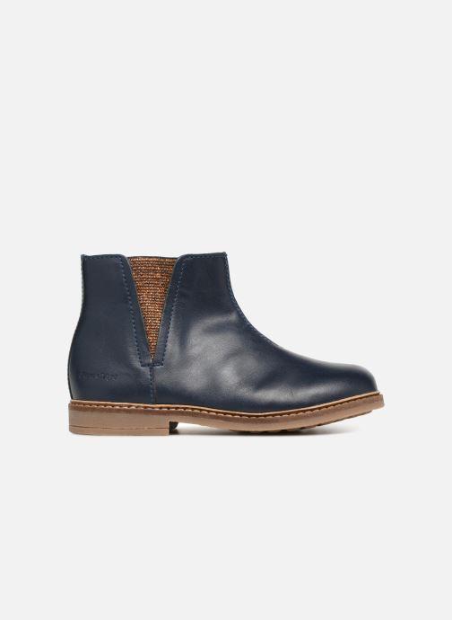 Bottines et boots Pom d Api Retro Boots Bleu vue derrière