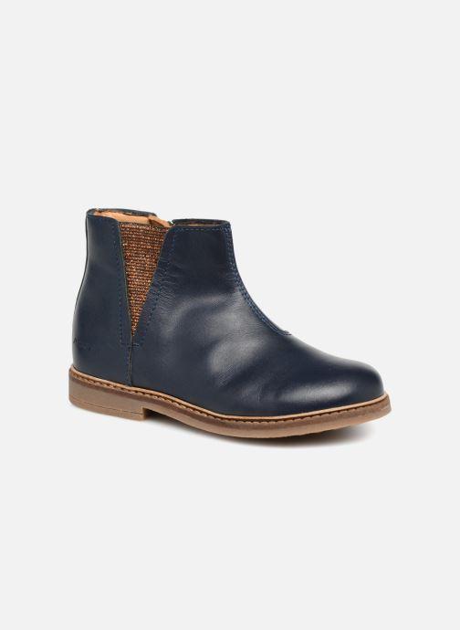 Bottines et boots Pom d Api Retro Boots Bleu vue détail/paire