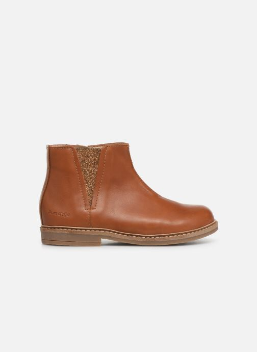 Boots en enkellaarsjes Pom d Api Retro Boots Bruin achterkant