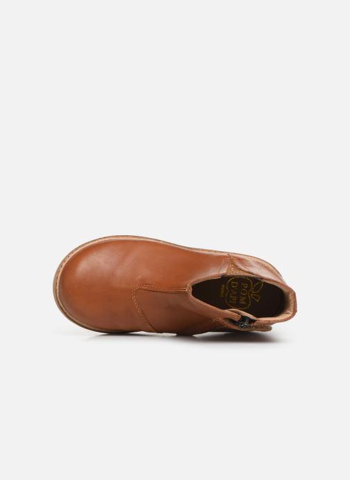 Boots en enkellaarsjes Pom d Api Retro Boots Bruin links
