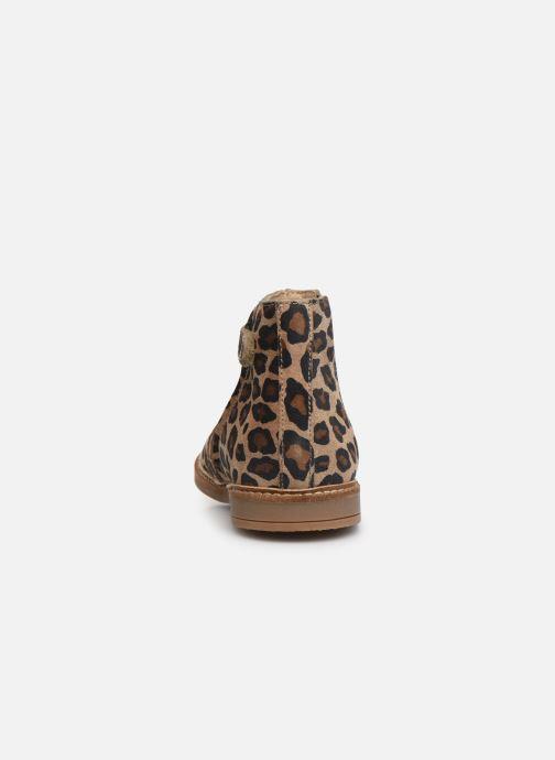 Bottines et boots Pom d Api Retro Boots Marron vue droite