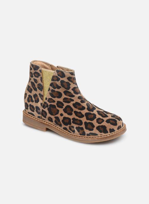 Bottines et boots Pom d Api Retro Boots Marron vue détail/paire