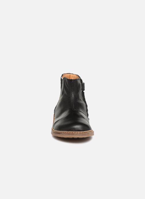 Bottines et boots Pom d Api Retro Brod Noir vue portées chaussures