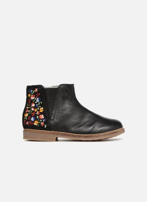 Bottines et boots Pom d Api Retro Brod Noir vue derrière