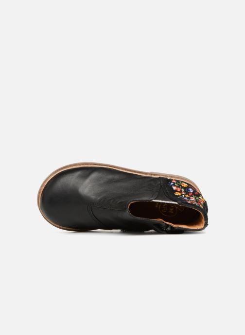 Bottines et boots Pom d Api Retro Brod Noir vue gauche