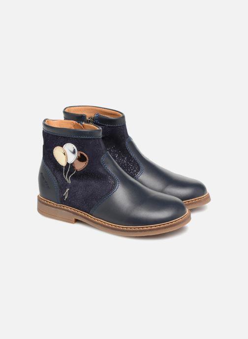 Ankle boots Pom d Api Retro Baloon Blue 3/4 view