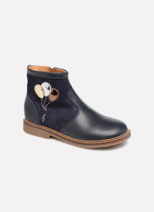 Ankle boots Pom d Api Retro Baloon Blue detailed view/ Pair view