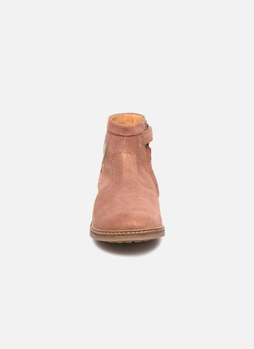Bottines et boots Pom d Api Retro Baloon Rose vue portées chaussures