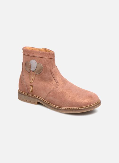 Bottines et boots Pom d Api Retro Baloon Rose vue détail/paire