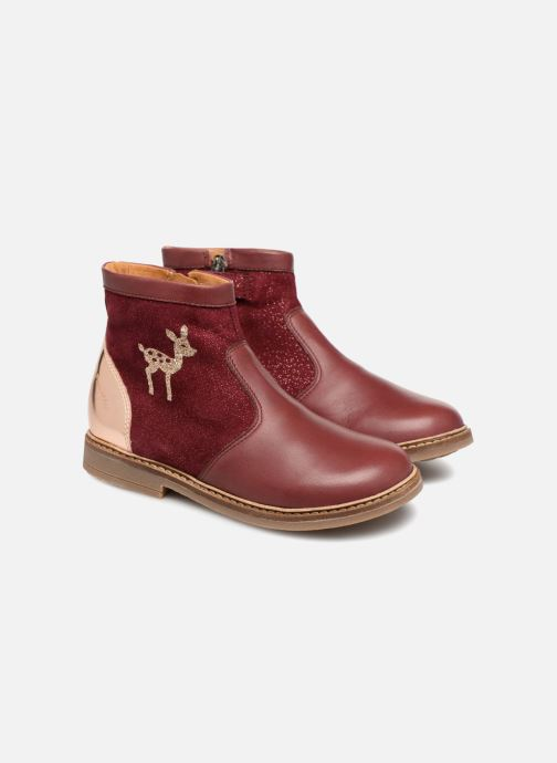 Boots en enkellaarsjes Pom d Api Retro Fix Bordeaux 3/4'