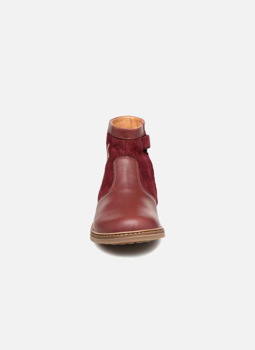 Bottines et boots Pom d Api Retro Fix Bordeaux vue portées chaussures