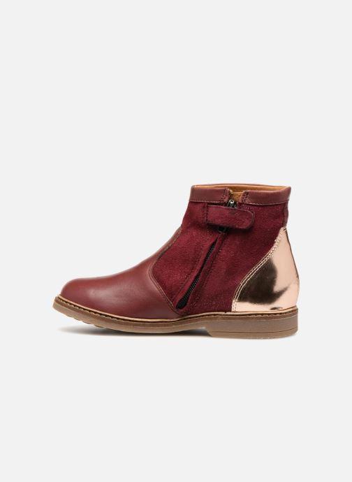 Bottines et boots Pom d Api Retro Fix Bordeaux vue face