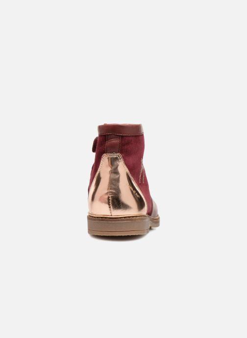 Bottines et boots Pom d Api Retro Fix Bordeaux vue droite