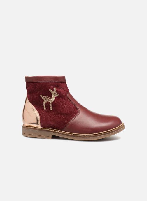 Bottines et boots Pom d Api Retro Fix Bordeaux vue derrière