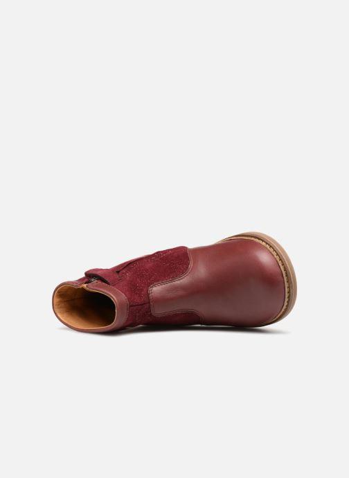 Bottines et boots Pom d Api Retro Fix Bordeaux vue gauche