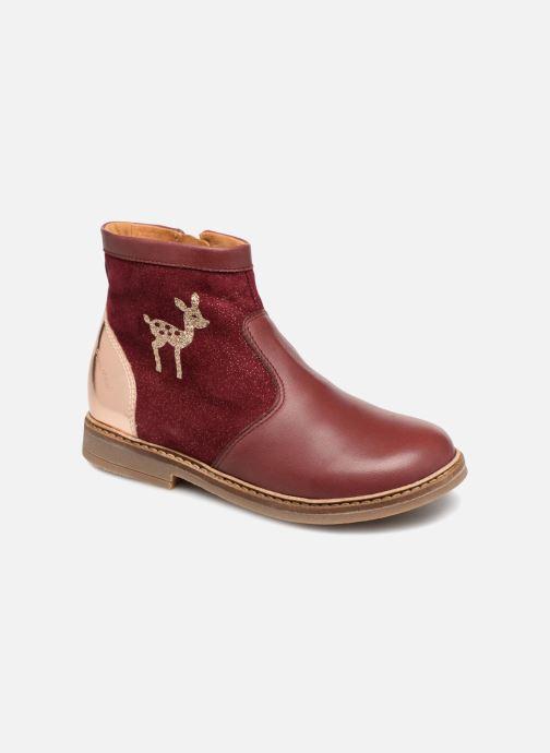 Bottines et boots Pom d Api Retro Fix Bordeaux vue détail/paire