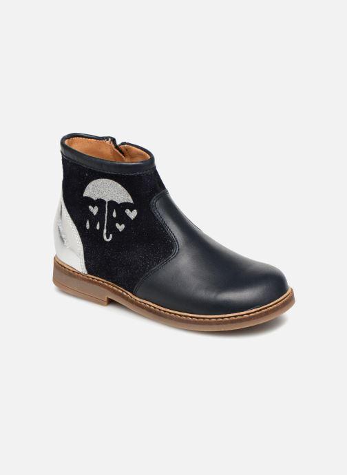 Boots en enkellaarsjes Pom d Api Retro Fix Blauw 3/4'