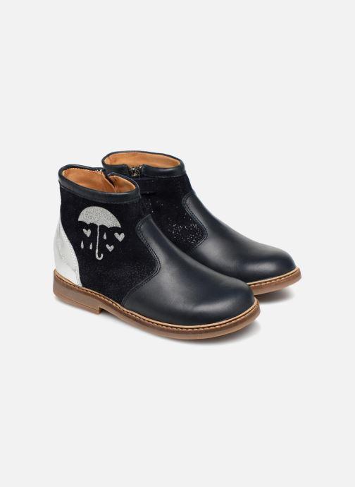 Ankelstøvler Pom d Api Retro Fix Blå detaljeret billede af skoene