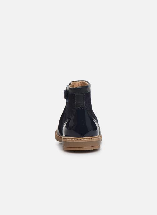 Bottines et boots Pom d Api Retro Fix Bleu vue droite