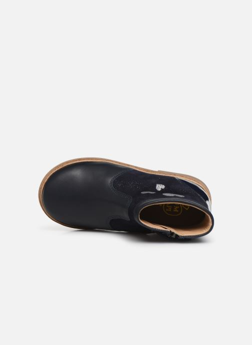 Boots en enkellaarsjes Pom d Api Retro Fix Blauw links