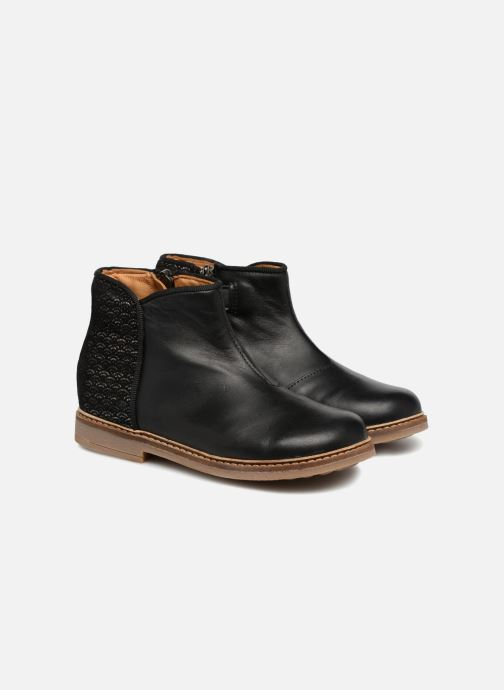 Boots en enkellaarsjes Pom d Api RETRO BACK SZ Zwart 3/4'