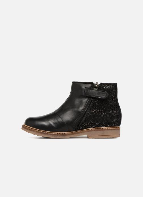 Boots en enkellaarsjes Pom d Api RETRO BACK SZ Zwart voorkant