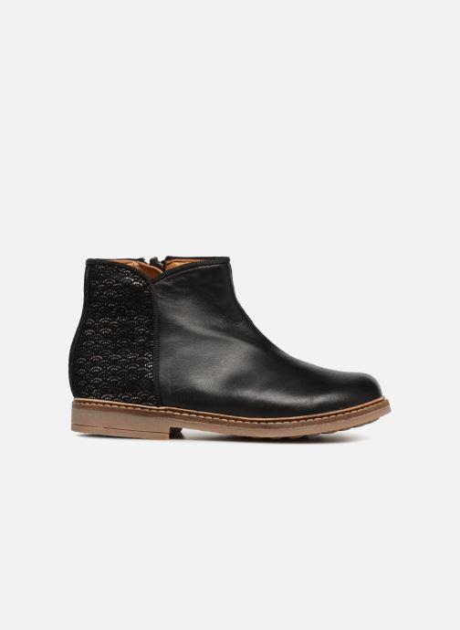 Boots en enkellaarsjes Pom d Api RETRO BACK SZ Zwart achterkant