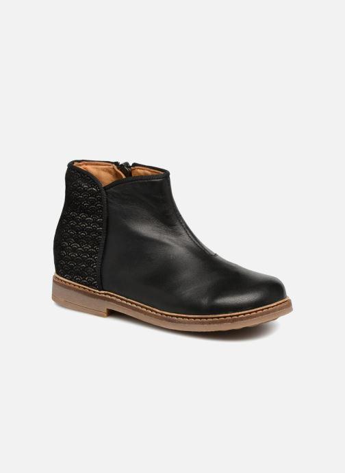 Boots en enkellaarsjes Pom d Api RETRO BACK SZ Zwart detail