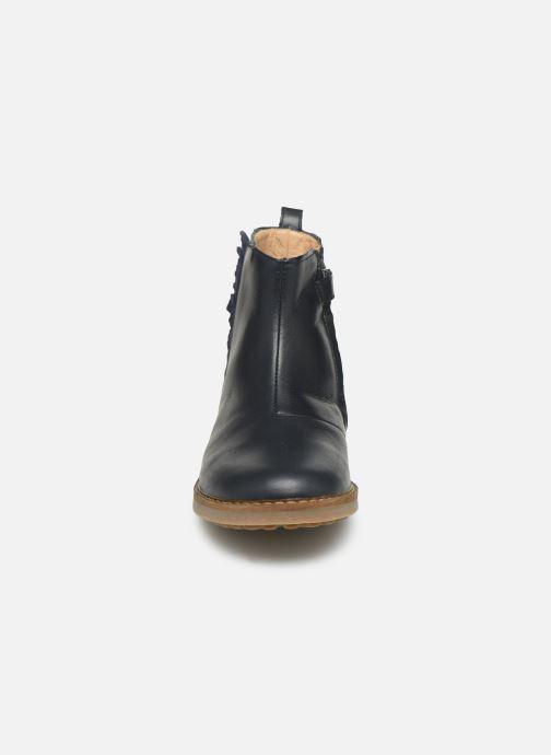 Bottines et boots Pom d Api Trip Fringe Bleu vue portées chaussures
