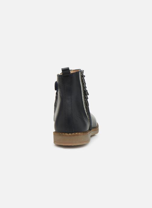 Bottines et boots Pom d Api Trip Fringe Bleu vue droite